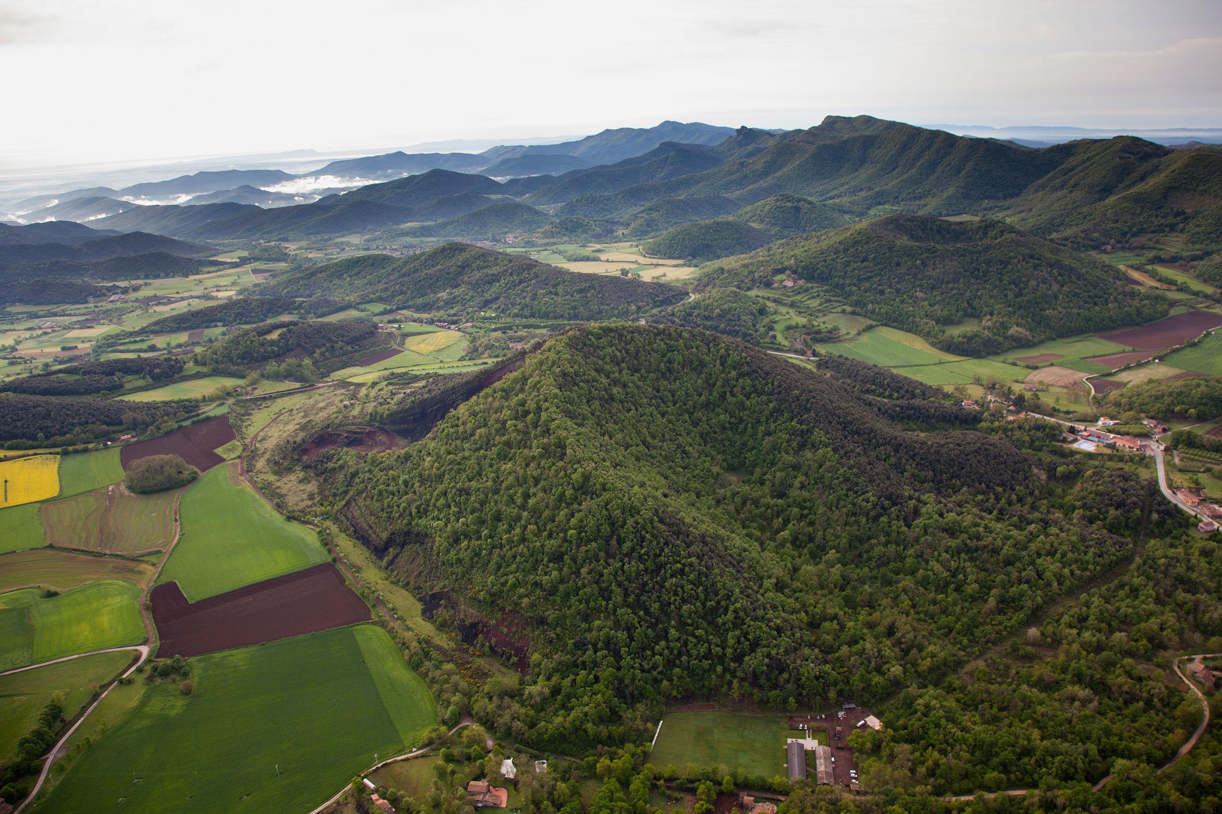 Montgolfière-Garrotxa-